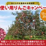 おぐらやま農場 年末感謝祭・家使いりんごキャンペーンと当選発表です!!2017年12月